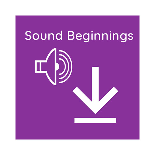 Sound Beginnings Language Development System for Babies: Audio Download Graphic