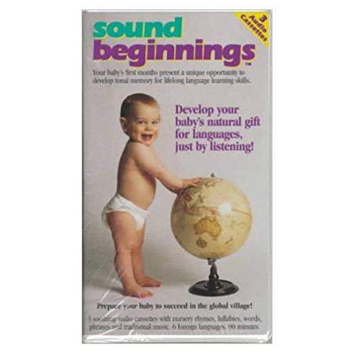 Sound Beginnings Language Development System: Original Cassette Tape Packaging